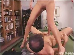 Chickita Fucks On Pool Table -