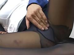 Alexis silver fucking in pantyhose