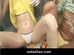 natasha shy getting messy