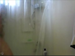 Big Tit Girl in Shower