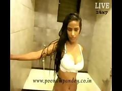 Indian Model Bathing