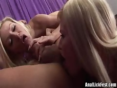 Helena Sweet Kenzi Marie - Sexy Sisters Gives Rimjob