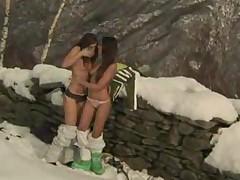 Zafira  Gilda Roberts. Outdoor lesbian lust