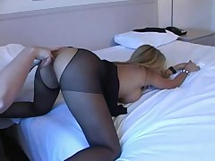 Rio In Crotchless Pantyhose