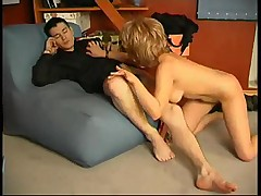 Teen guy wakes to bang his ant ass