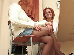 Hot redhead lesbians