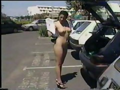 Nude In Public French girl