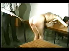 Teacher panking student