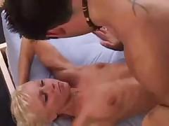 Midget blonde fuck