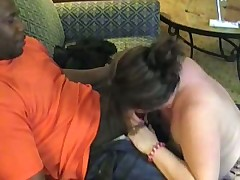 Filming his swinger wife with a black man