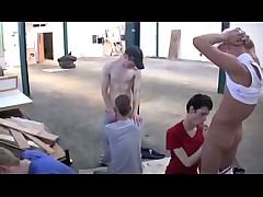 6 horny boys