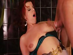 Redhead mature assfucked