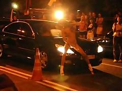 Striptease night raicing