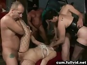 Cum Covered Gangbang