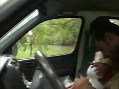 Sexy Allison fucked in the van