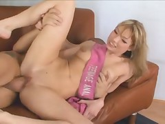 Watch the blonde ass get fucked