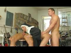 Nun takes