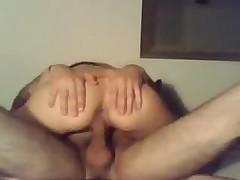 Emo virgin couple fucking on Webcam