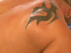 A muscle bubble butt gets a cock.