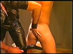 Old gay movie, dildo and piss