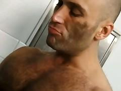 Hairy Big Dick Skinhead Fucks Preppy Twink On Toilet Flo