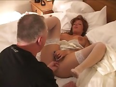 White Bride Fucked by 2 BBC on Wedding Night