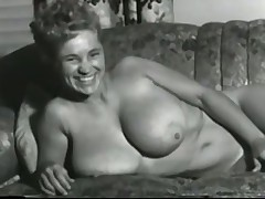Vintage Clip of hot huge boobs blonde