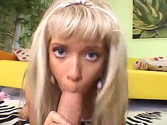 Hot BJ  handjob from teen