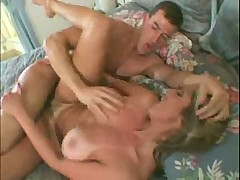 Big boobed lady teasing fucked and cummed onbi