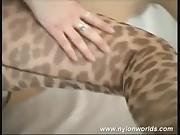Nylon flexible babe spreading