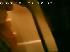 Very unaware. Using my little spy cam. Time stamp is wro