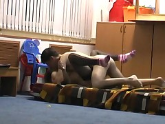 Horny GF home made sex tape