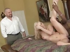 Blonde wife gets another kind of cock