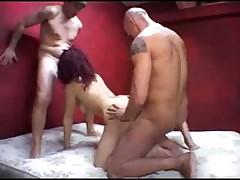 Italian Mature GangBang