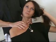 Skinny Diana fucked on the kitchen