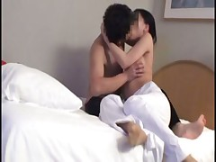 Japanese massage then fuck