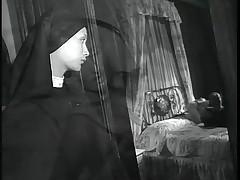 Couple fuck while nun watches