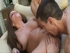 Curvy milf Victoria Valentino foreplay and sex