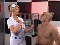 Hot nurse with big tits