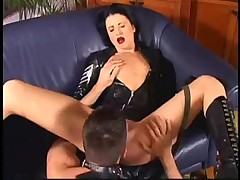 Russian Diana latex sex