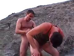 Lustful gays public fuck