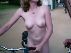 Nudist in London