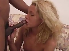 Skinny amateur girl ripped by big dong