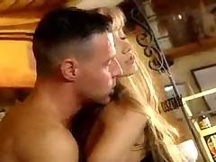 Teen Sexy Blonde Fucks Hung Stud