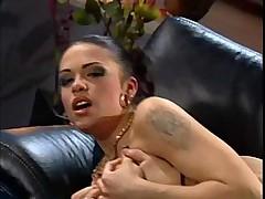 Teen Hot Brunette Sucks For Cum
