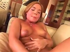 Three lesbians play anal games