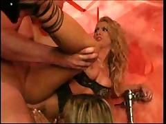 Alexa Rae in a hot bathroom threesome