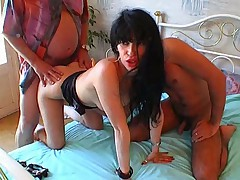 French arab girl Threesome