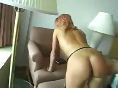Hot Russian hotel room throatanal fuck