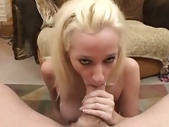 Beuty hot blonde fucking and footjob